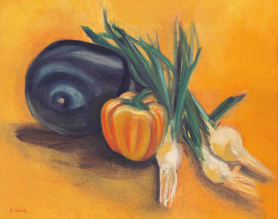 Painting - Eat Your Vegetables by Shawna Rowe