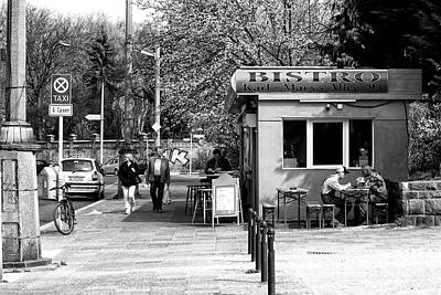 Photograph - Eating Lunch On Karl-marx-allee by John Rizzuto
