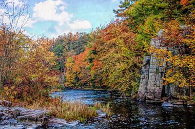 Photograph - Eau Claire Dells Fall 2 by Trey Foerster