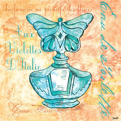 Outdoor Painting - Eau De Toilette by Debbie DeWitt