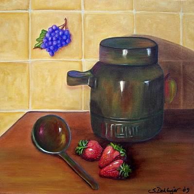 Painting - Eau De Vie  by Susan Dehlinger