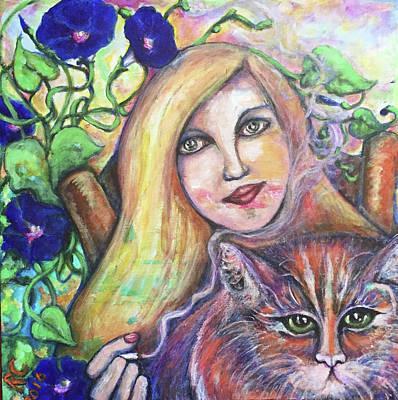 Painting - Eazybreezylazy Sunday by Rae Chichilnitsky