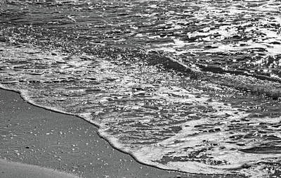Photograph - Ebb And Flow In Black And White by HH Photography of Florida