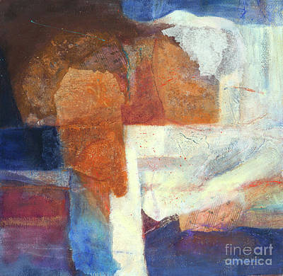 Mixed Media - Ebb And Flow by Lynne Reichhart