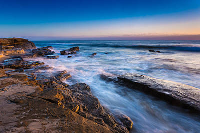 California Ocean Photograph - Ebb And Flow by Peter Tellone