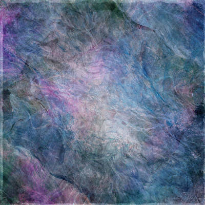 Mixed Media - Ebb And Flow Twilight by Teresa Wilson