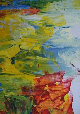 Yello Painting - Ebb Tide by Bruce Combs - REACH BEYOND