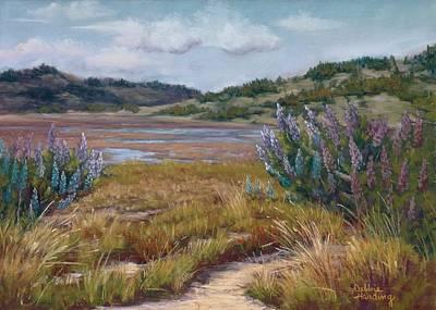 Landscape Painting - Ebb Tide Ensemble by Debbie Harding