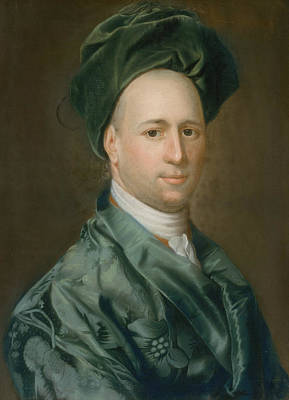 Pastel - Ebenezer Storer by John Singleton Copley