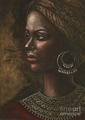 Painting - Ebony by Alga Washington