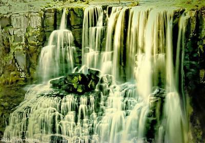 Photograph - Ebor Falls, Australia by Wallaroo Images