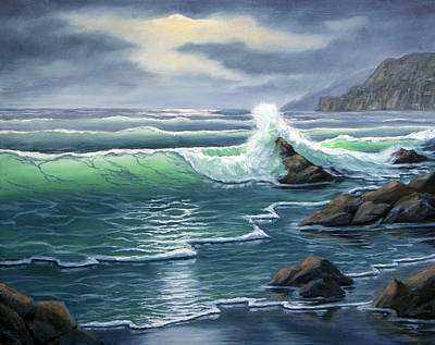 Painting - Ebtide by Lorraine Foster
