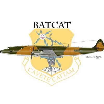 Ec-121r Batcatcavete Art Print