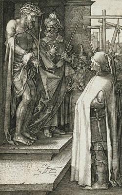 Ecce Homo Art Print by Albrecht Durer
