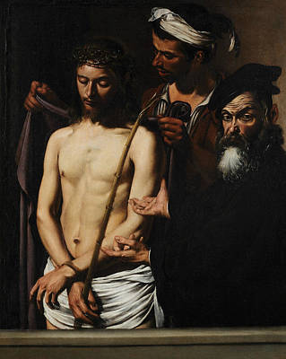 Jesus Art Painting - Ecce Homo  by Caravaggio