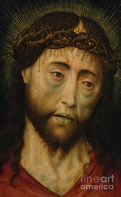 Crying Painting - Ecce Homo by Flemish School