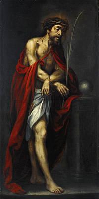 Valdes Painting - Ecce Homo by Juan de Valdes Leal