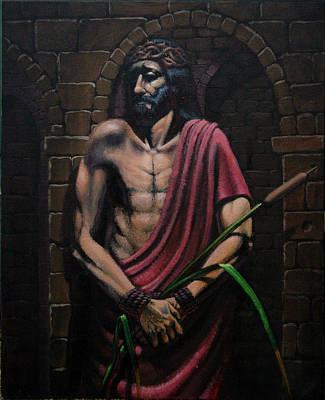 Painting - Ecce Homo by Mariusz Loszakiewicz