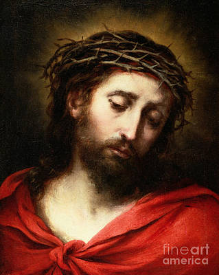 Devotional Painting - Ecce Homo, Or Suffering Christ by Bartolome Esteban Murillo