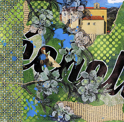 Provence Mixed Media - Echelles by Jennifer Fleming