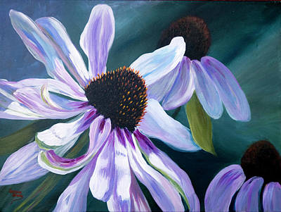 Painting - Echinacea by Donna Drake