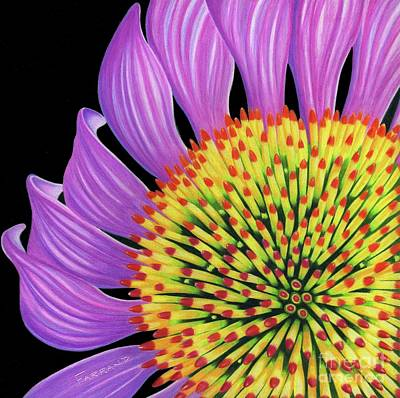 Wall Art - Painting - Echinacea II by Tracy Farrand