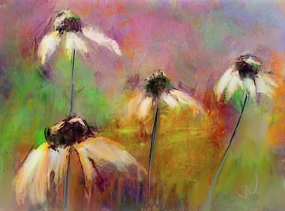 Digital Art - Echinacea by Jim Vance