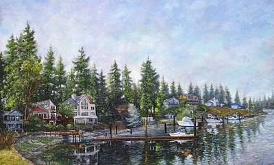 Painting - Echo Bay Three by Charles Munn