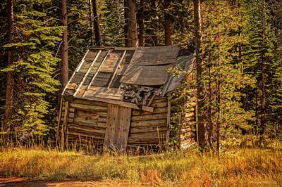Photograph - Echo Lake Cabin by LeeAnn McLaneGoetz McLaneGoetzStudioLLCcom