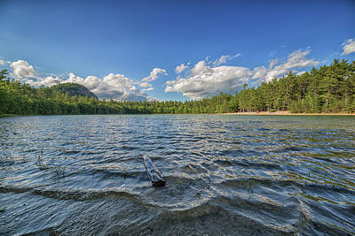 Photograph - Echo Lake Conway New Hampshire 2 by Brian MacLean