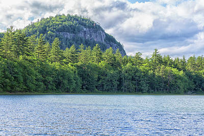 Photograph - Echo Lake Conway New Hampshire 3 by Brian MacLean