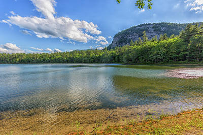 Photograph - Echo Lake Conway New Hampshire 5 by Brian MacLean