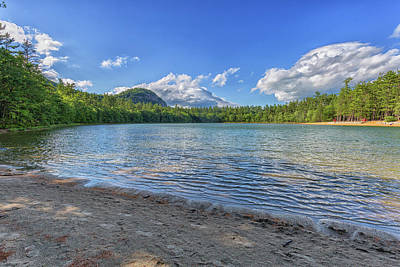 Photograph - Echo Lake Conway New Hampshire by Brian MacLean