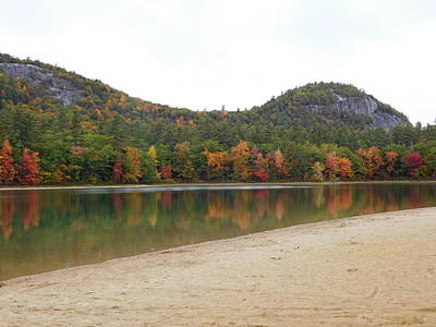 Photograph - Echo Lake In Conway Nh by Catherine Gagne