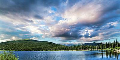 Photograph - Echo Lake by Mike Braun