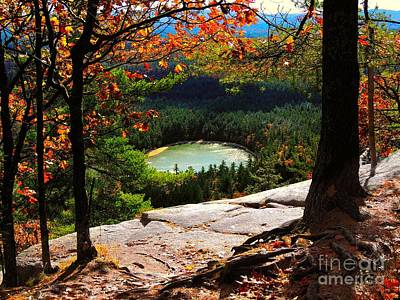 North Conway Photograph - Echo Lake, New Hampshire by Mim White