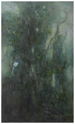 Oil Painting - Echo No.2 by Zhixun Lin