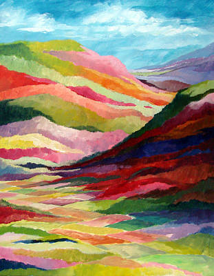 Painting - Echo Valley by David  Maynard