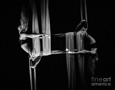 Photograph - Echoed Silks by Scott Sawyer