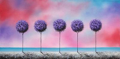 Echoes Of Summer Art Print by Rachel Bingaman