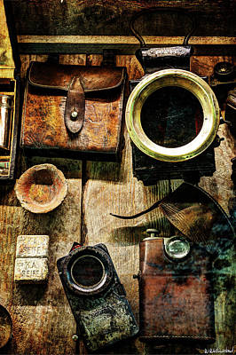 Photograph - Echoes Of The Great War - The Camera by Weston Westmoreland