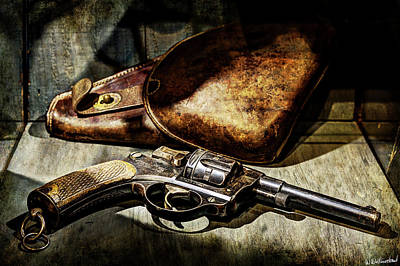Photograph - Echoes Of The Great War - The Revolver by Weston Westmoreland