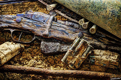 Photograph - Echoes Of The Great War - The Rifle by Weston Westmoreland