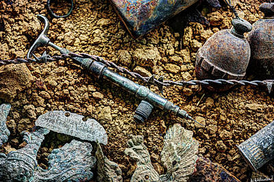 Photograph - Echoes Of The Great War - The Syringe by Weston Westmoreland