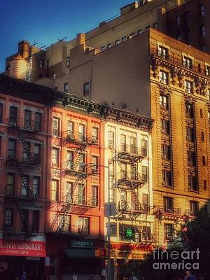 Photograph - Echoes Of The Past - Upper West Side New York by Miriam Danar