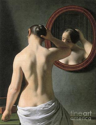 Photograph - Eckersberg: Nude, C1837 by Granger
