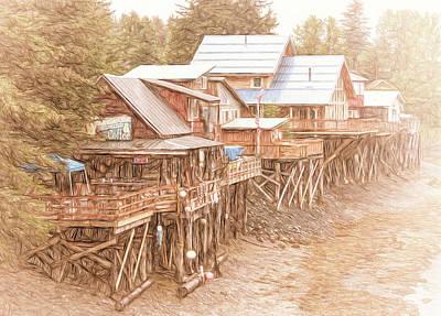 Eclectic Alaska Print by Jim Cook