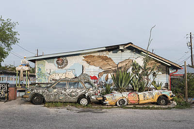 Photograph - Eclectic Art In Vibrant South Austin by Carol M Highsmith