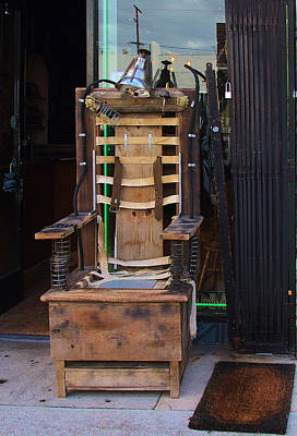 Photograph - Eclectic Chair On Melrose Ave by Viktor Savchenko