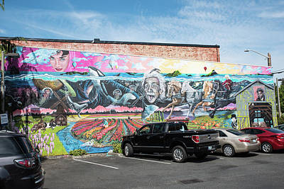 Photograph - Eclectic Mural by Tom Cochran